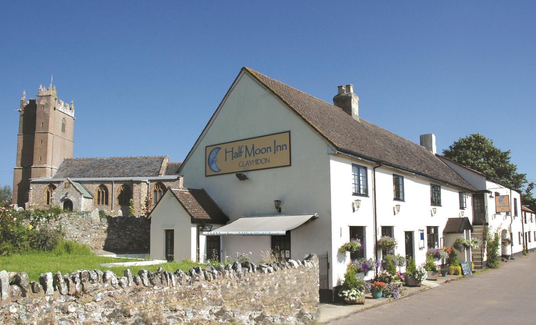 The Half Moon Inn, Clayhidon