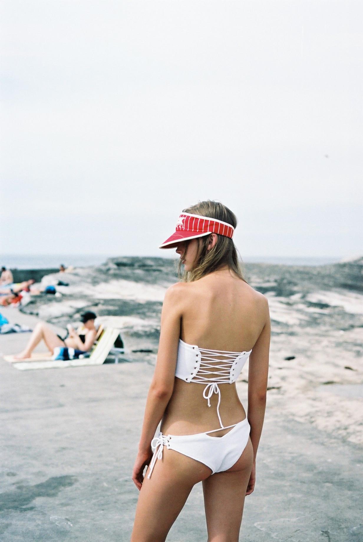 Jupiter Bikini in White