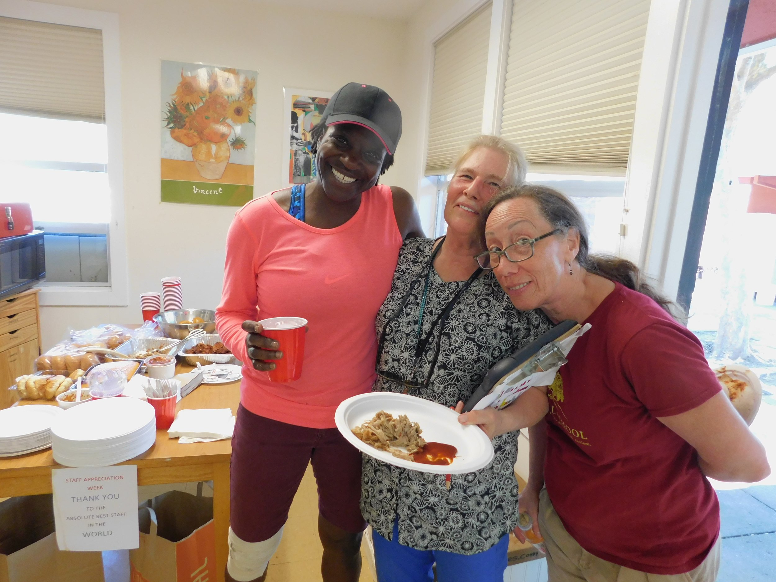Happy times at Staff Appreciation Lunch