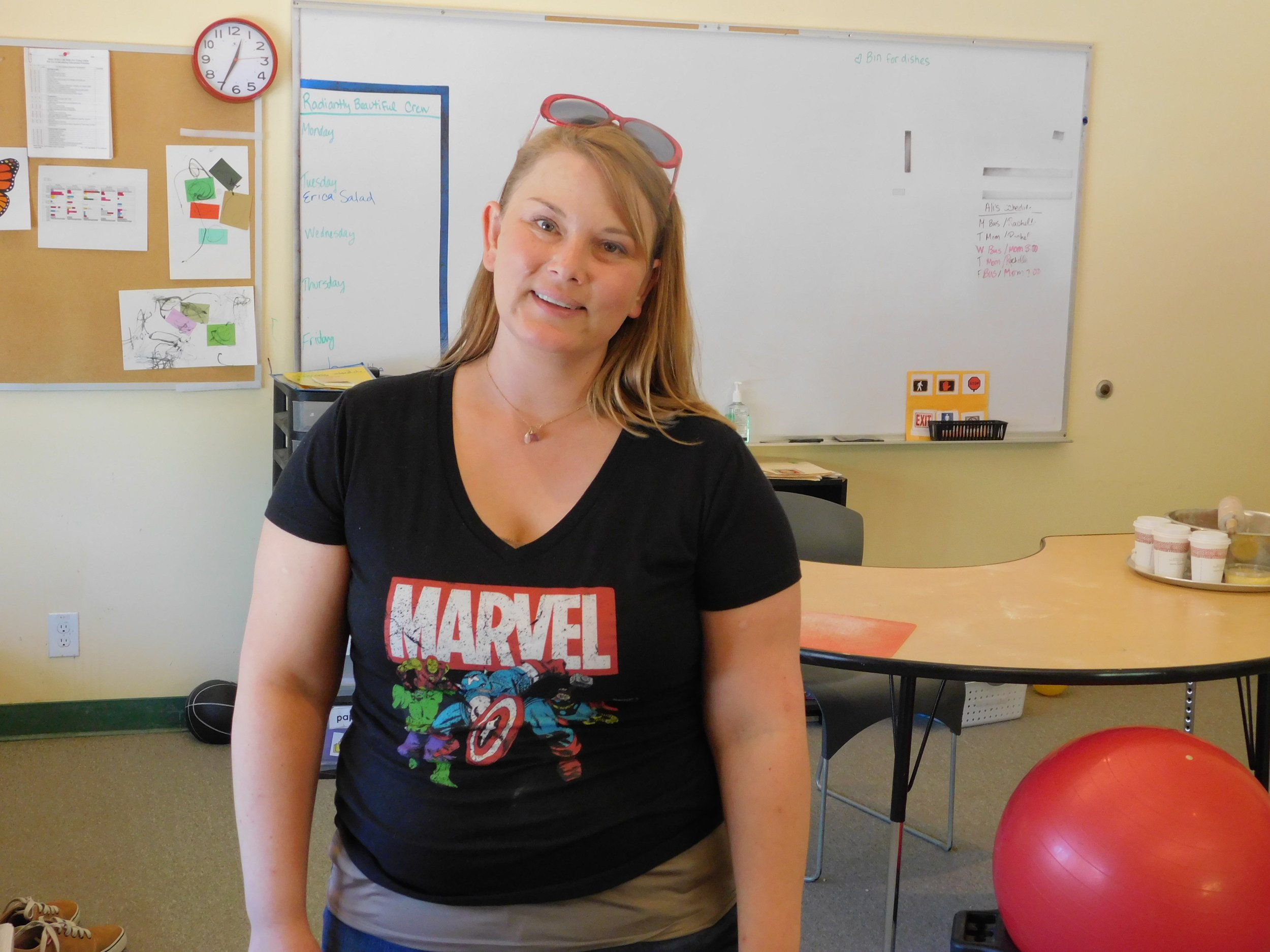 "Erica ""Captain America"" Richards"