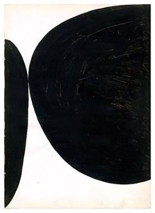 Untitled, Ellsworth Kelly, 1954