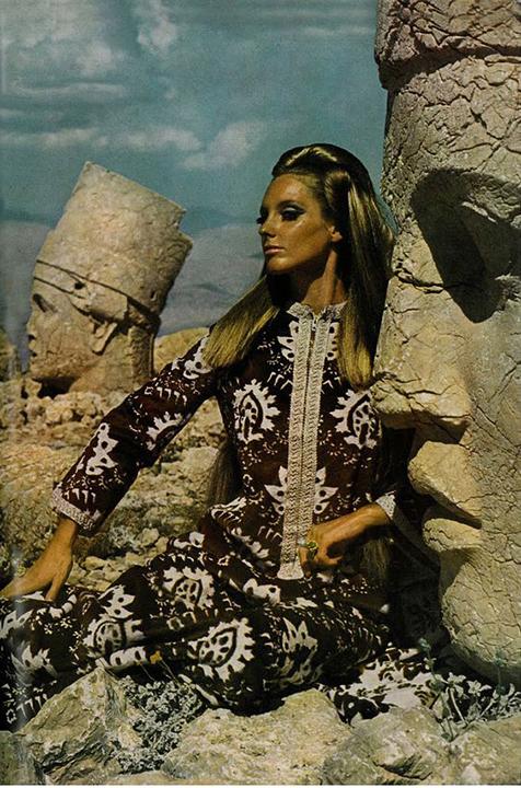 Antonia and Sveva, Henry Clarke, UK Vogue February 1966