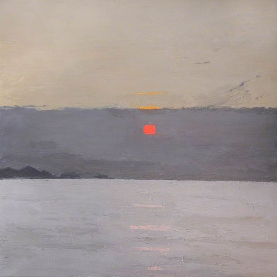 0110a sir john kyffin williams sunset 1918.jpg
