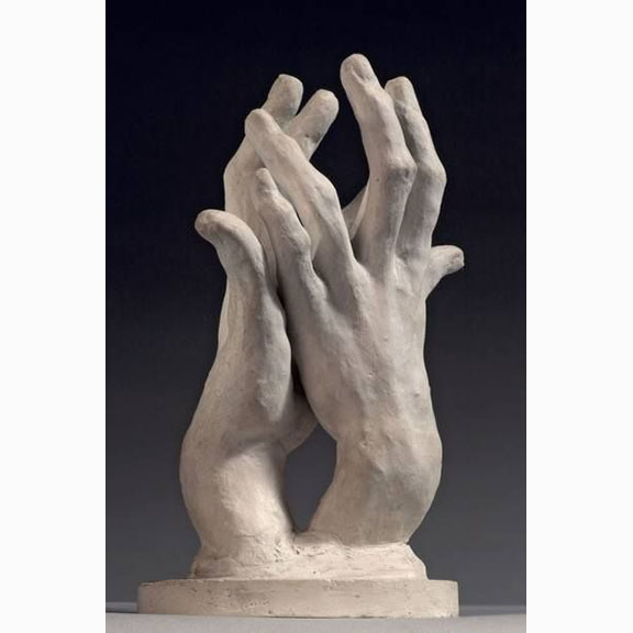 Auguste Rodin, Combinations, A Pair of Left Hands No.2 (Hands of the Pianiest), 1890-1900