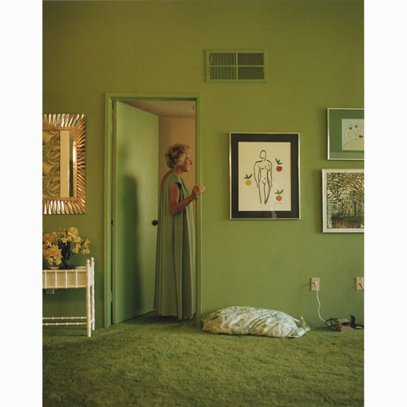 Larry Sultan Pictures from Home, Mom in Doorway, 1992