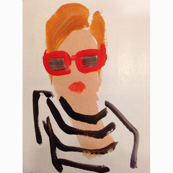 Donald Drawbertson, Fashion Illustration, Unknown Date