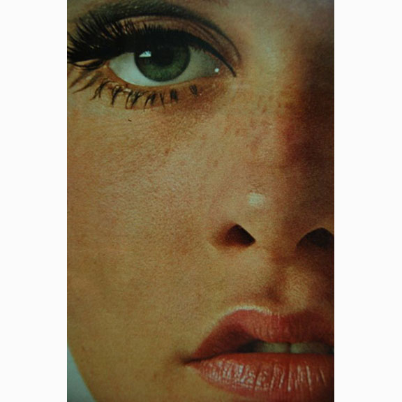 Twiggy, Seventeen Magazine, 1967