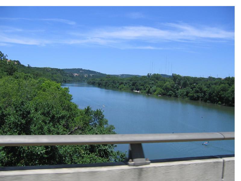 Town Lake / Lady Bird Johnson Lake in Austin, Texas