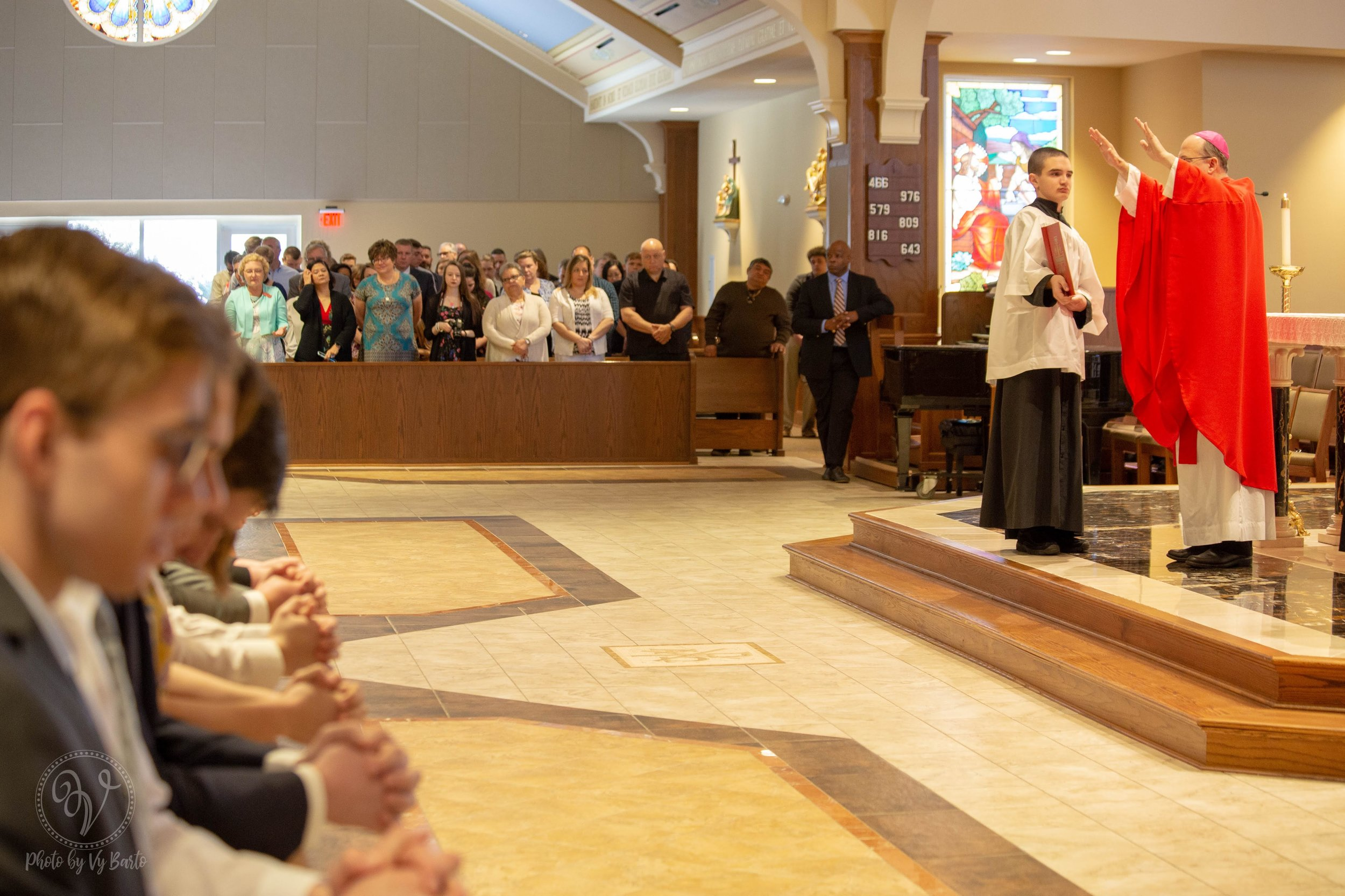 Confirmation - St. John the Apostle - Virginia Beach