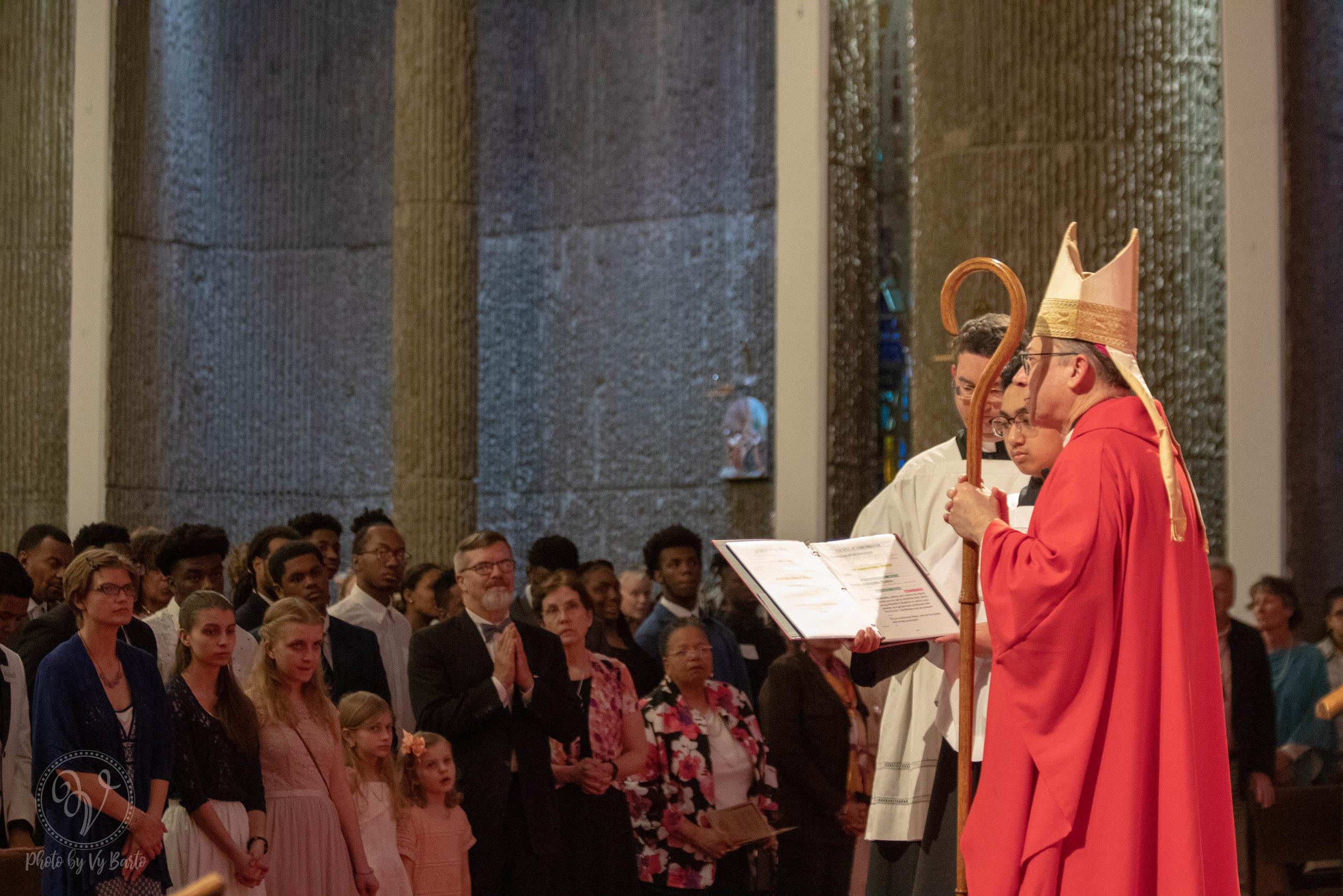 Confirmation - St. Pius X - Norfolk