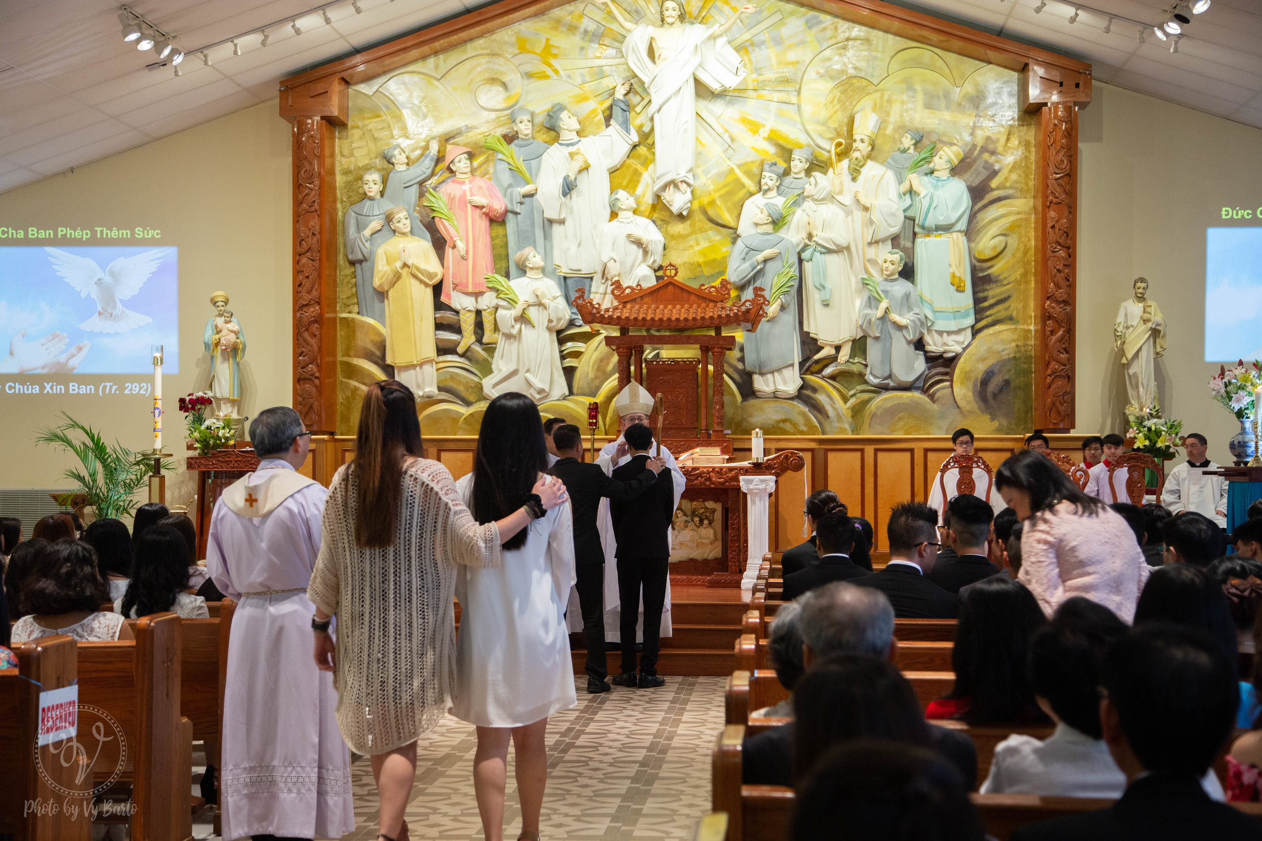 Confirmation - Church of the Vietnamese Martyrs - Richmond
