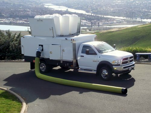 Typical truck mounted system used by other companies.