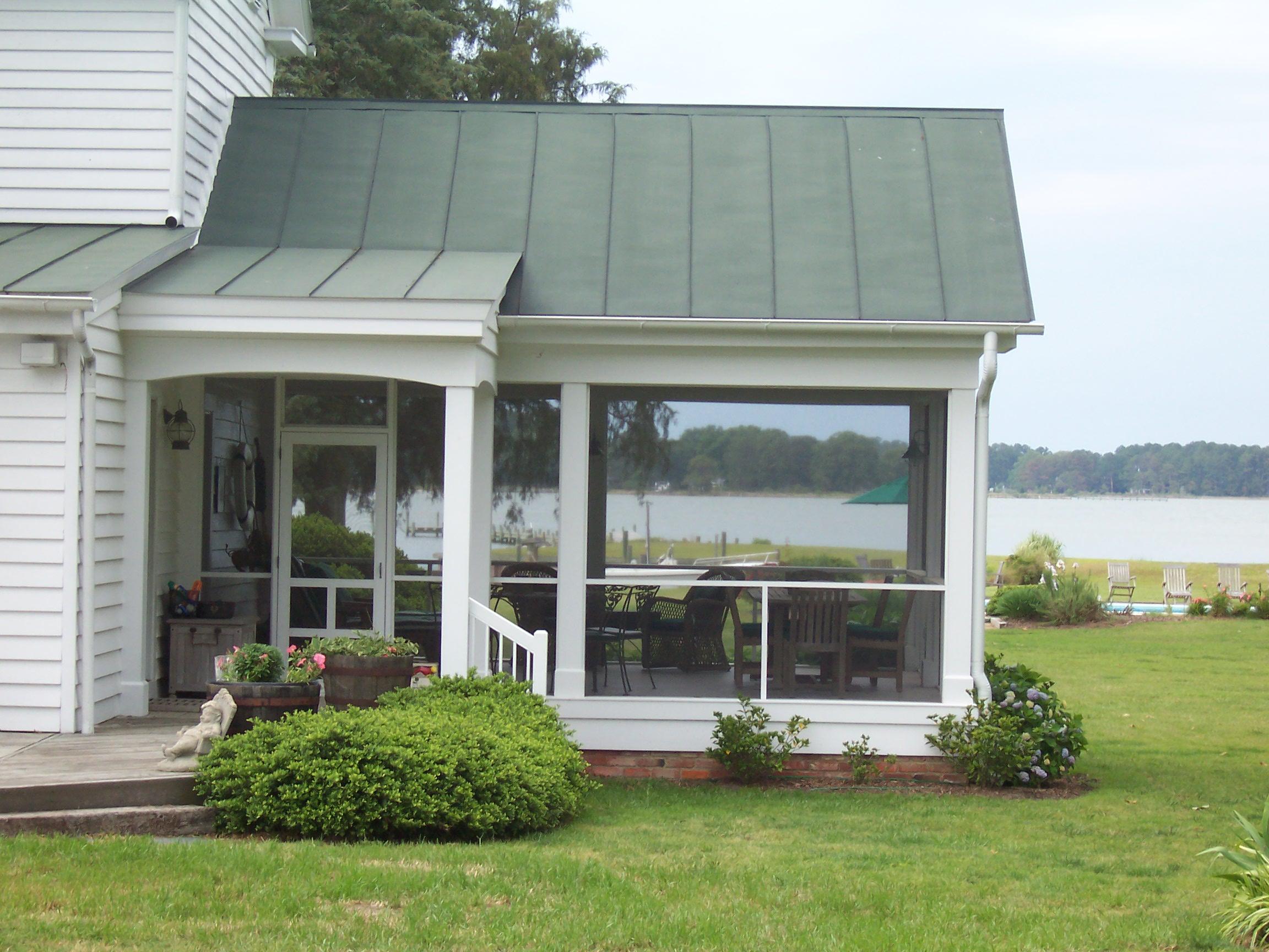 Porch & Back Stoop Addition