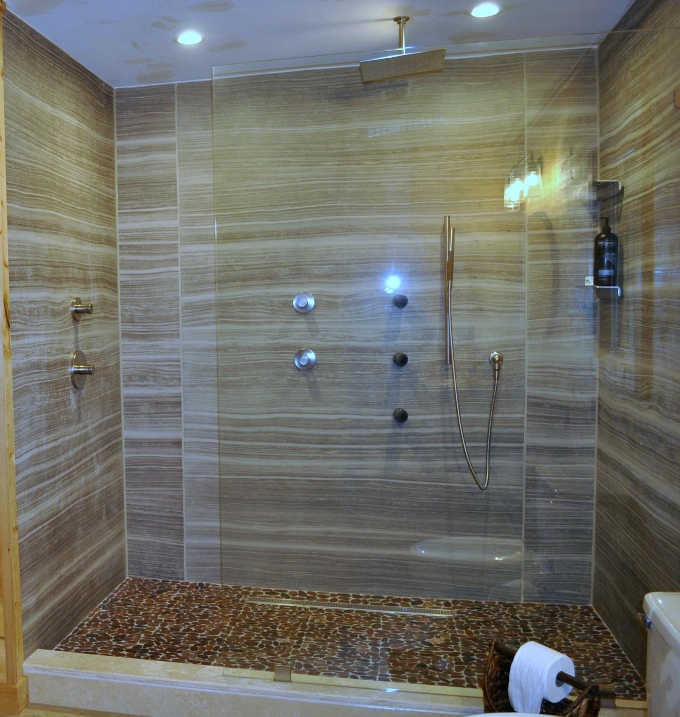 Shower in Bathroom Renovation