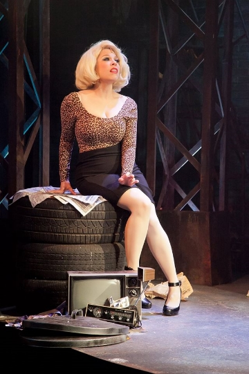 Lauren Marcus in LITTLE SHOP OF HORRORS - Photo by Randy O'Rourke