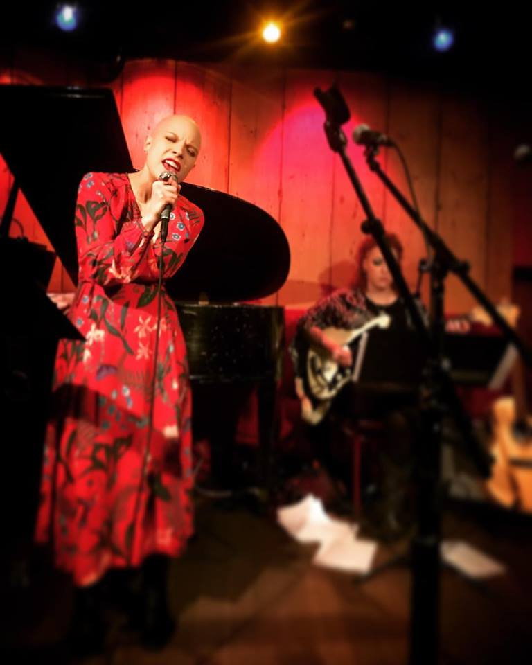 Live at Rockwood Music Hall - Photo by Molly Hager