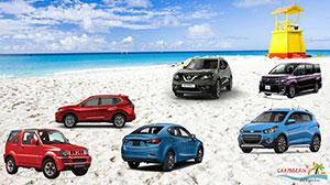 Car rentals in Barbados