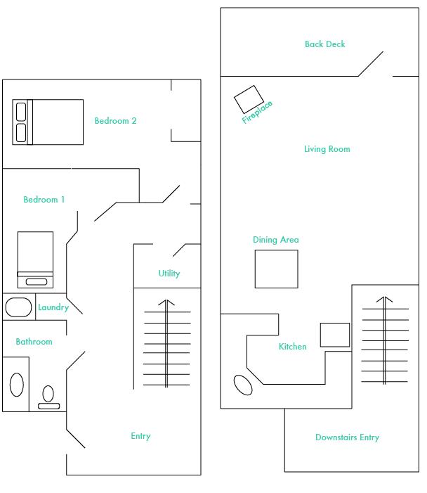 Alpine North Floorplan