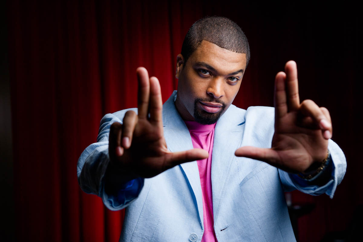 DeRay Davis, Comedian for Chicago Style Magazine