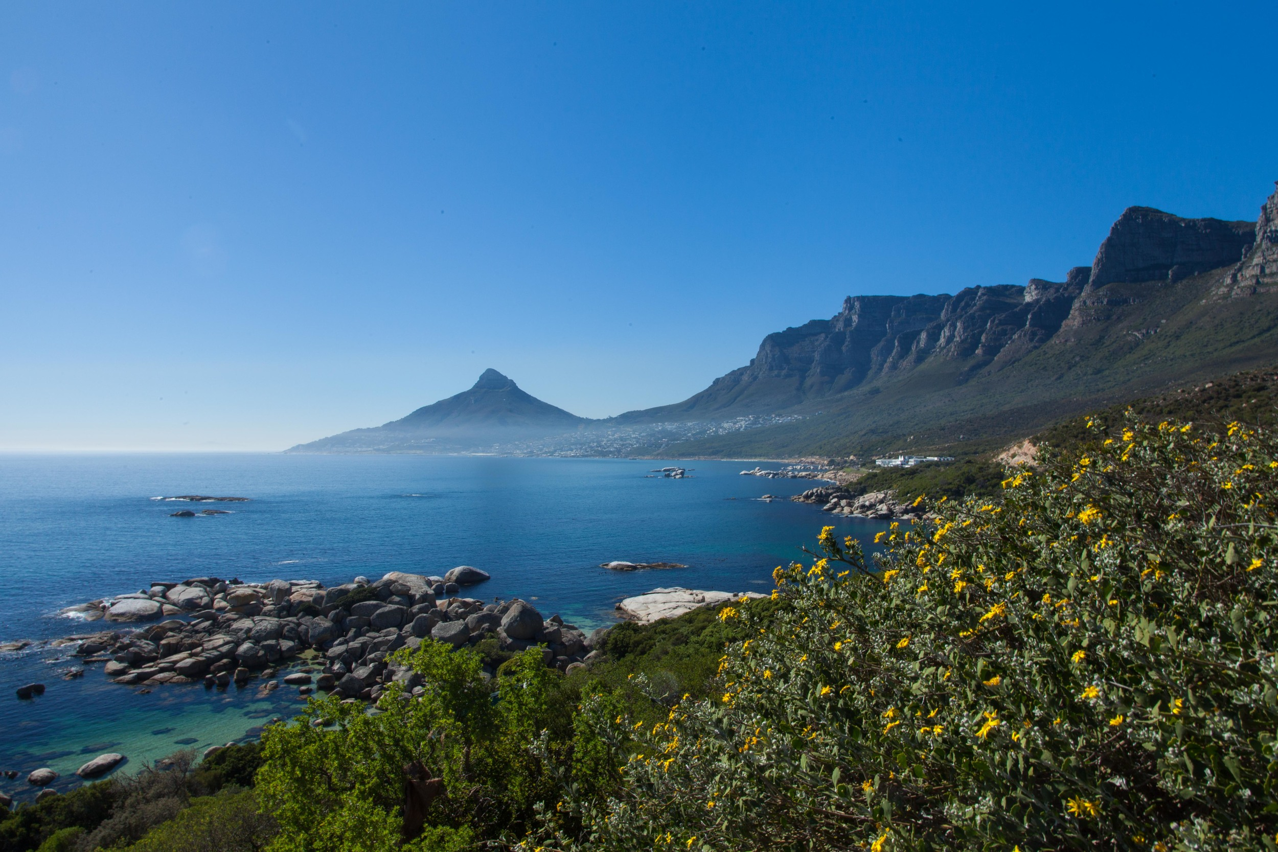 View of Lion's Head from Oudekraal, south of Cape Town