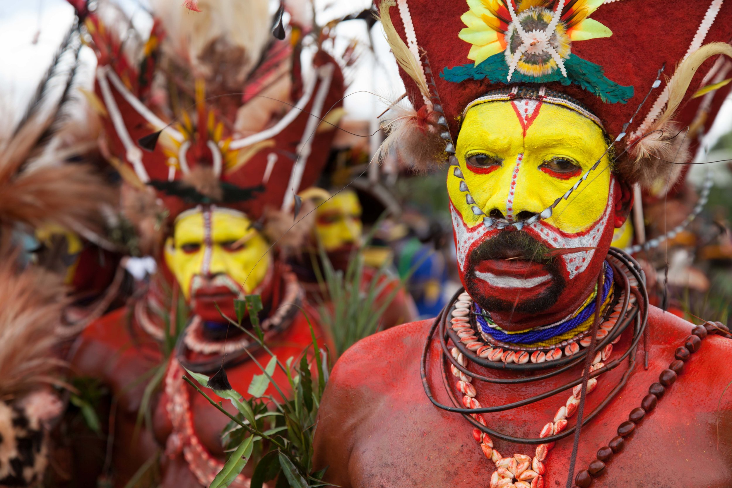 Tribes gather to celebrate their heritage at the annual  Goroka Show  sing sing