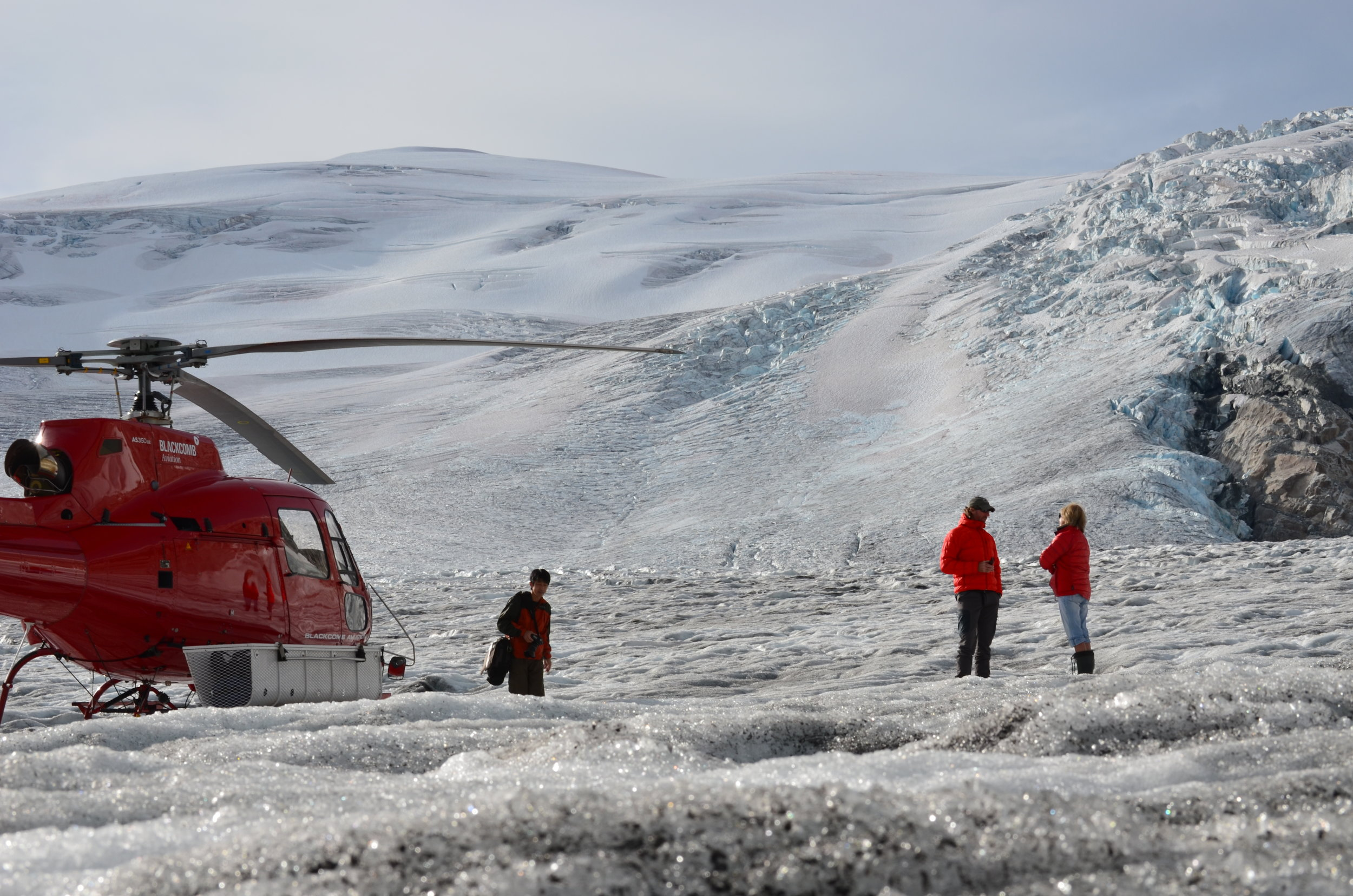 Glacier Locations