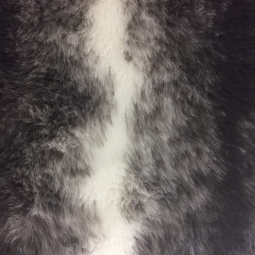 Gray Chinchila  Style: Faux Furs ID: 15104 Content: 100% Polyester Price: $29.90 per yard