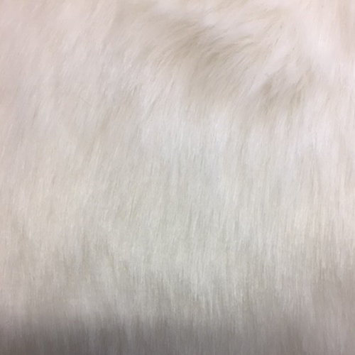 White Fur  Style: Faux Furs ID: 15665 Content: 100% Polyester Price: $29.90 per yard