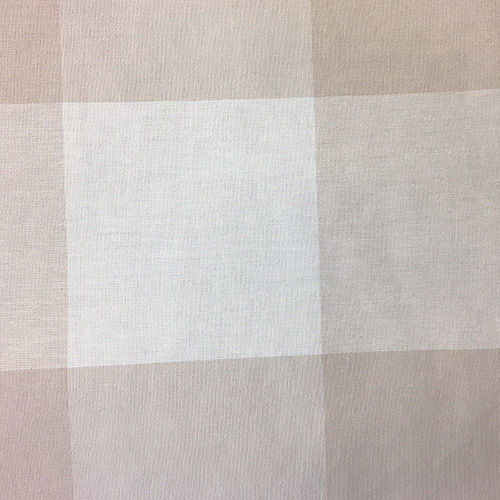 Buffalo Check  Style: Checks & Plaids ID: 15288 Color: Linen Retail Price: $19.90 per yard Content: 100% Cotton