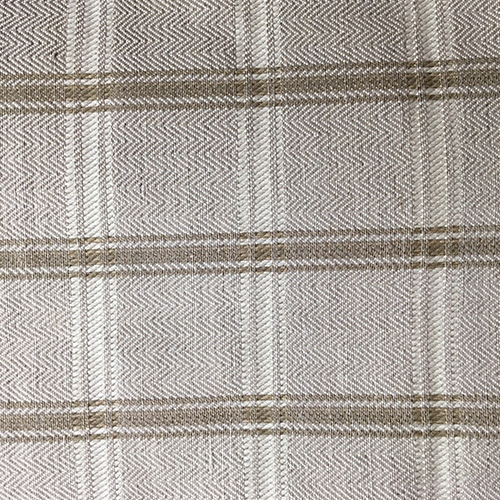 Herringbone Plaid  Style: Checks & Plaids ID: 11502 Color: Natural Retail Price: $21.90 per yard Content: 63% Cotton, 37% Linen