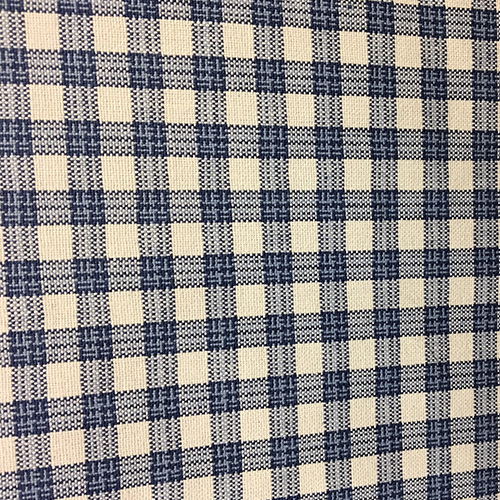 Highland Check  Style: Checks & Plaids ID: 14995 Color: Denim Retail Price: $20.90 per yard Content: 100% Cotton