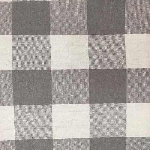 "Sm Buffalo 90""  Style:Checks & Plaids ID:16306 Color: Gray Retail Price: $12.90 per yard Content: 100% Cotton"