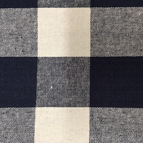 "Sm Buffalo 90""  Style: Checks & Plaids ID: 16304 Color: Navy Retail Price: $12.90 per yard Content: 100% Cotton"
