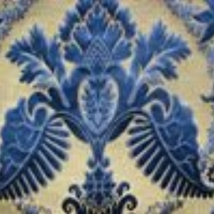 Brocatel Blue  Style: Silk ID:8791 Retail Price:130.90 Content:100% Silk