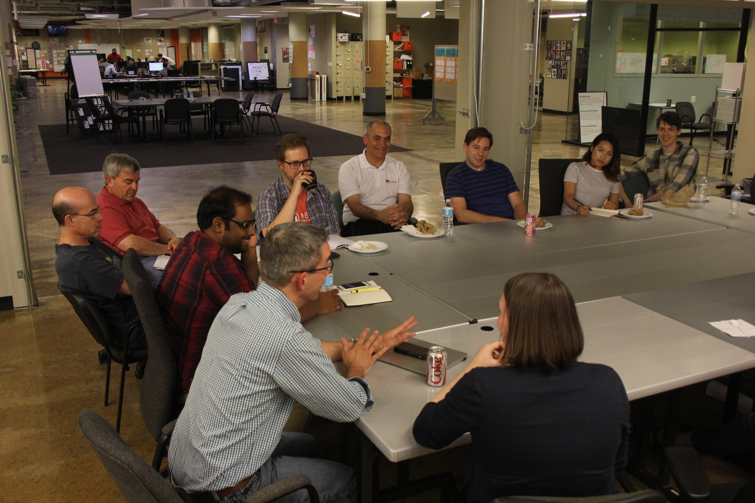 The Monthly Founders' Meeting supports community and coaching among Menlo leadership and startup founders as well as Startup Garage alumni and community partners