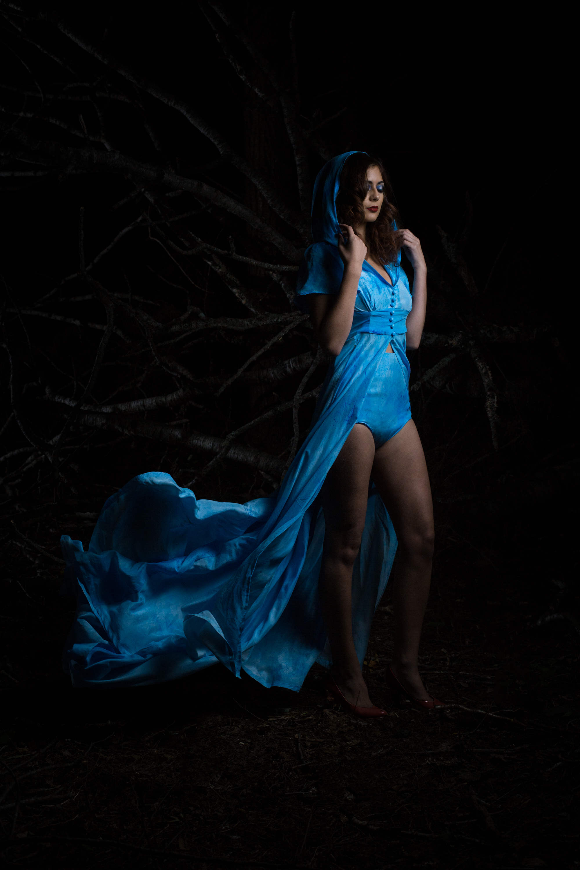 Photography: Lance Kenneth Blakney l Model: Kayley Reed l Hair: Mike Drost l MUA: Billy Peterson l Fashion Design: Michelle Duncan l Suface Design/Producer: Dee Wilkie