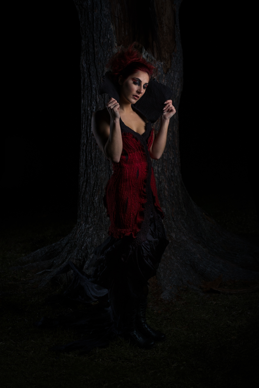 Photography: Lance Kenneth Blakney l Model: Gillian Glover l Hair: Mike Drost l MUA: Billy Peterson l Fibre Art: Alexandra Keely l Silk Surface Design/Producer: Dee Wilkie