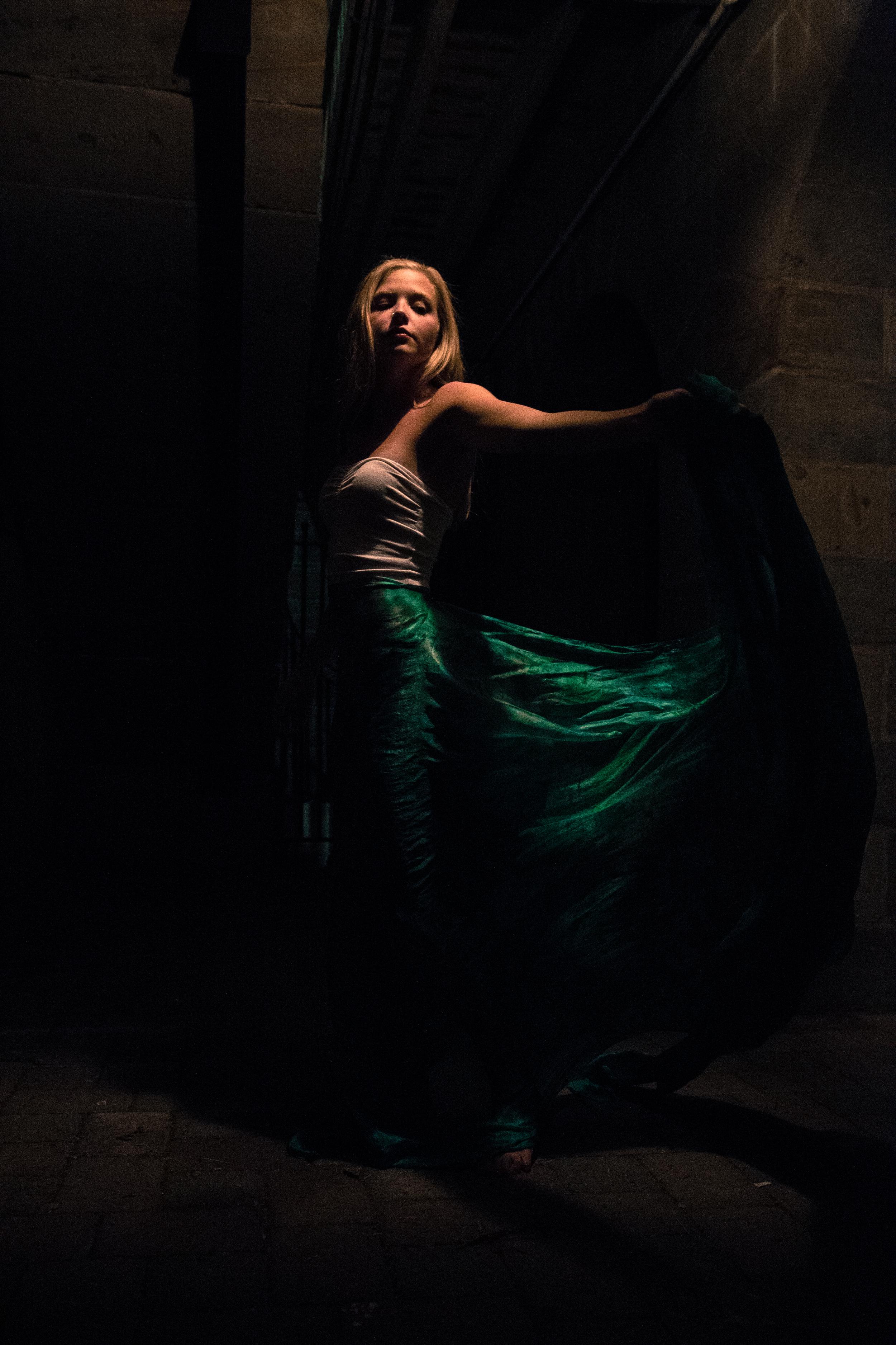 Photography: Barry McCluskey l Model: Victoria Deveau l Designer/Producer: Dee Wilkie