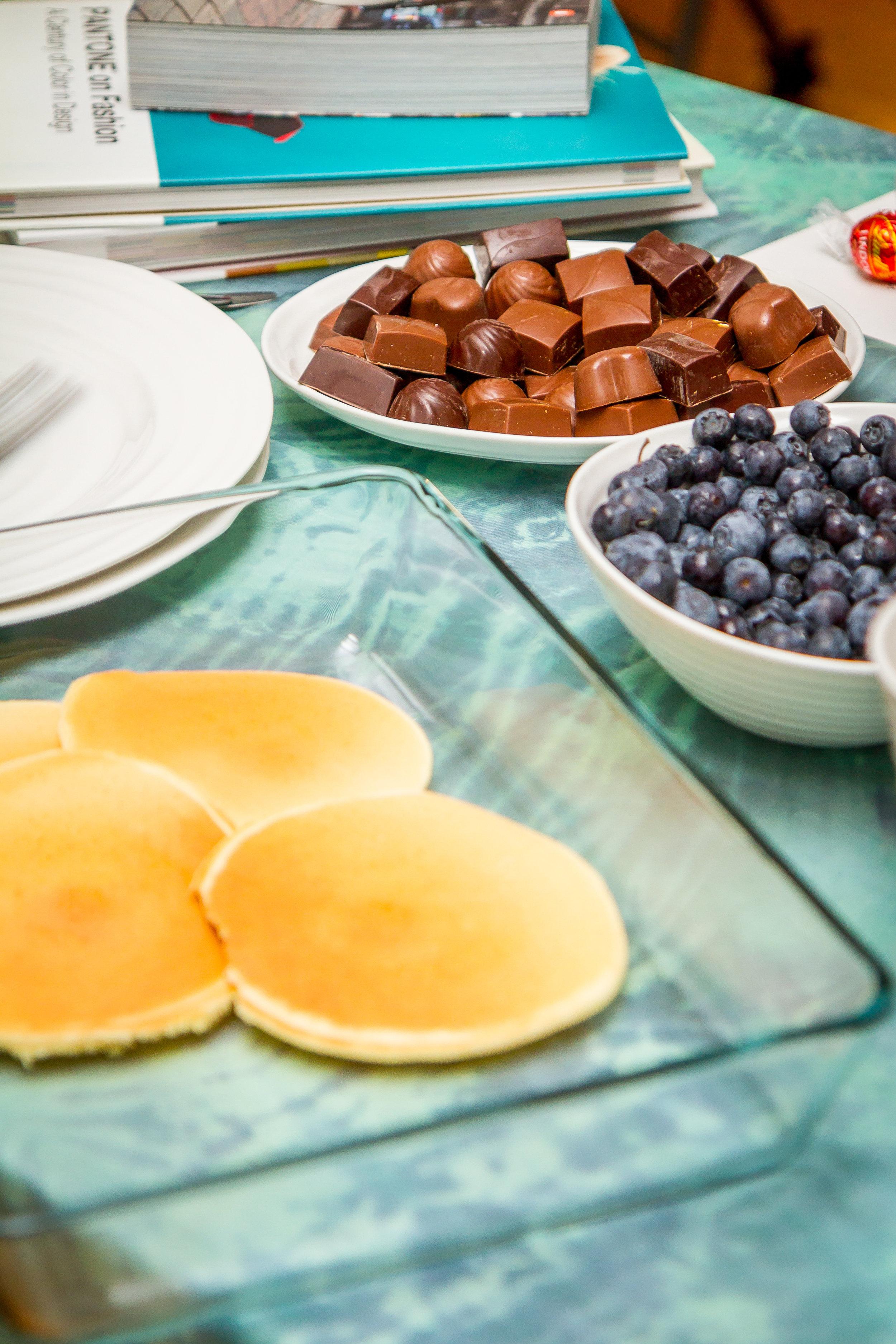 Pancake bar!