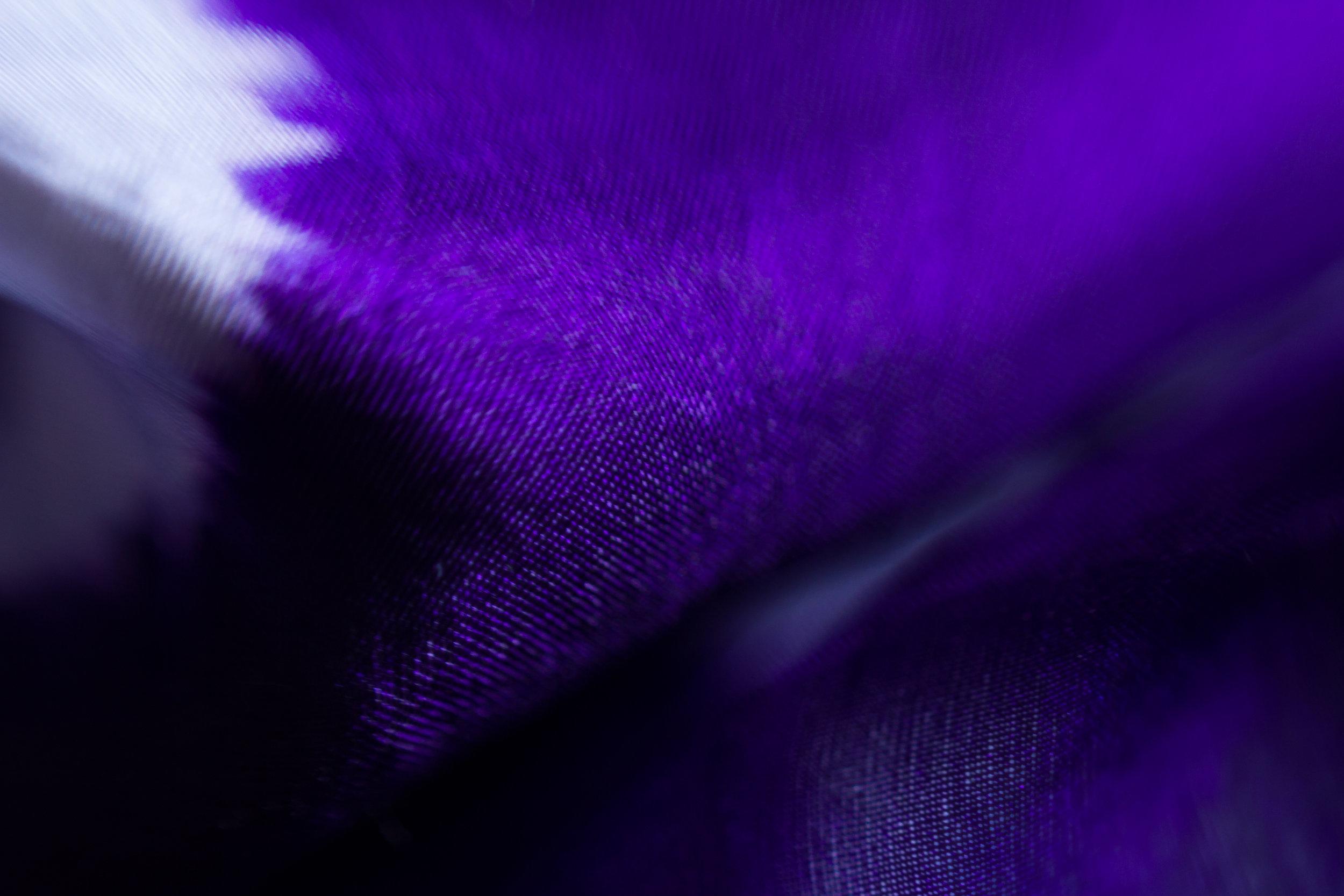 Silk Fabric Hand Dyed