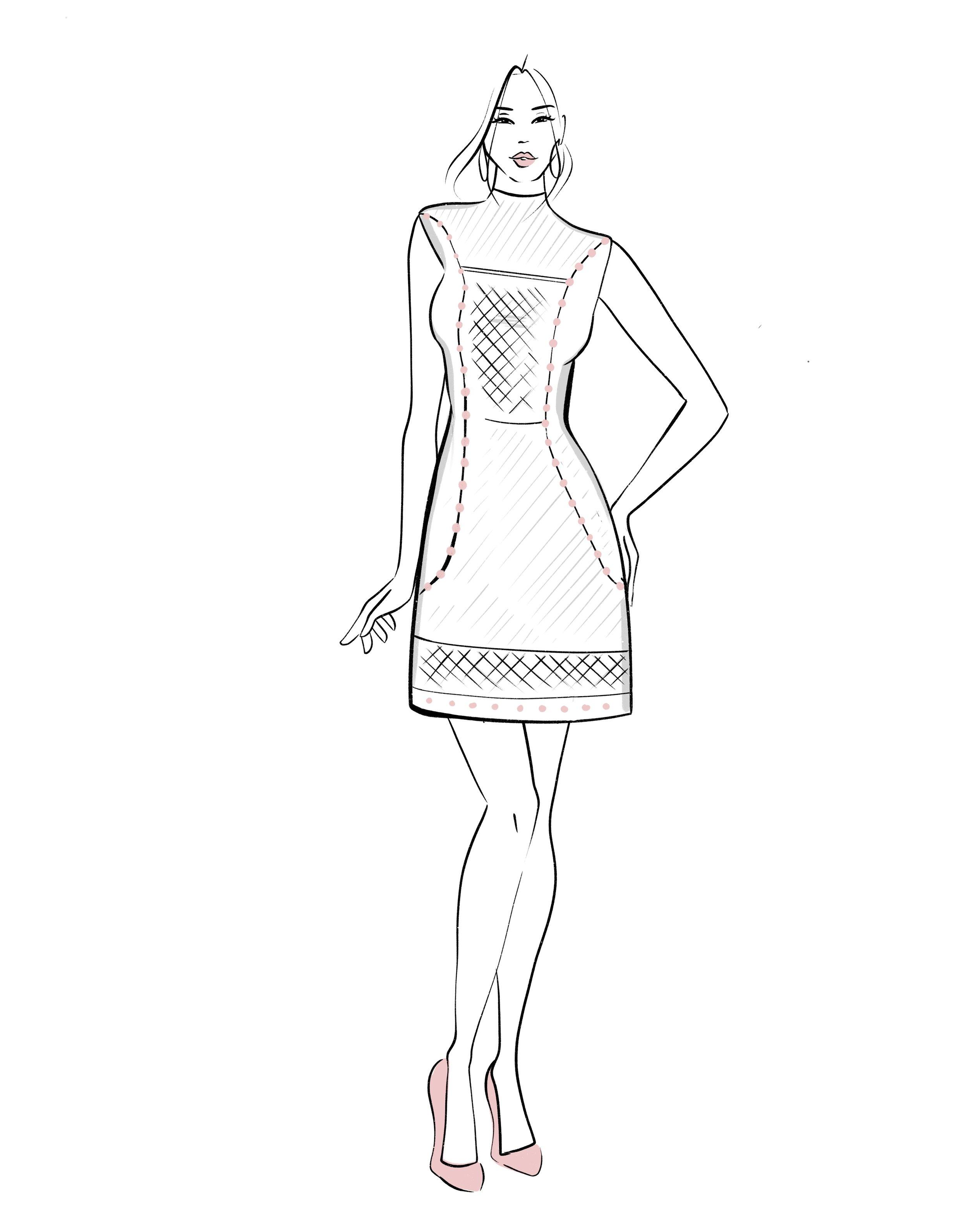 Fashion Illustration:  Sabina Fenn