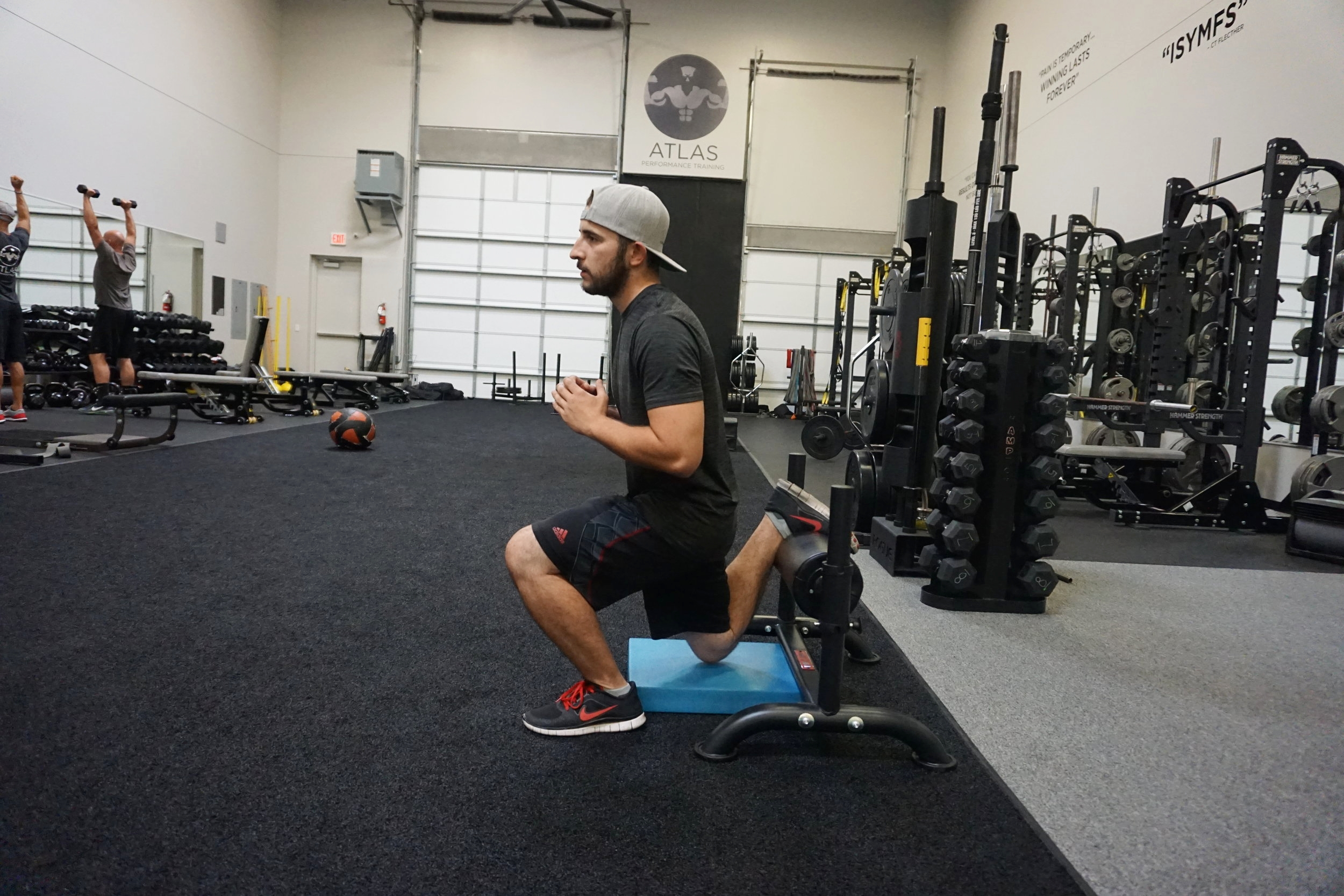 """Bulgarian Split Squats fit into the """"squat"""" category"""