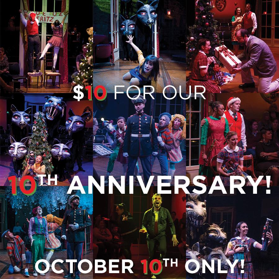 Nutcracker ballet-free play 10th anniversary $10 ticket sale