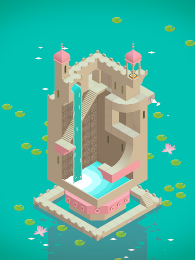 Screenshot from  Monument Valley