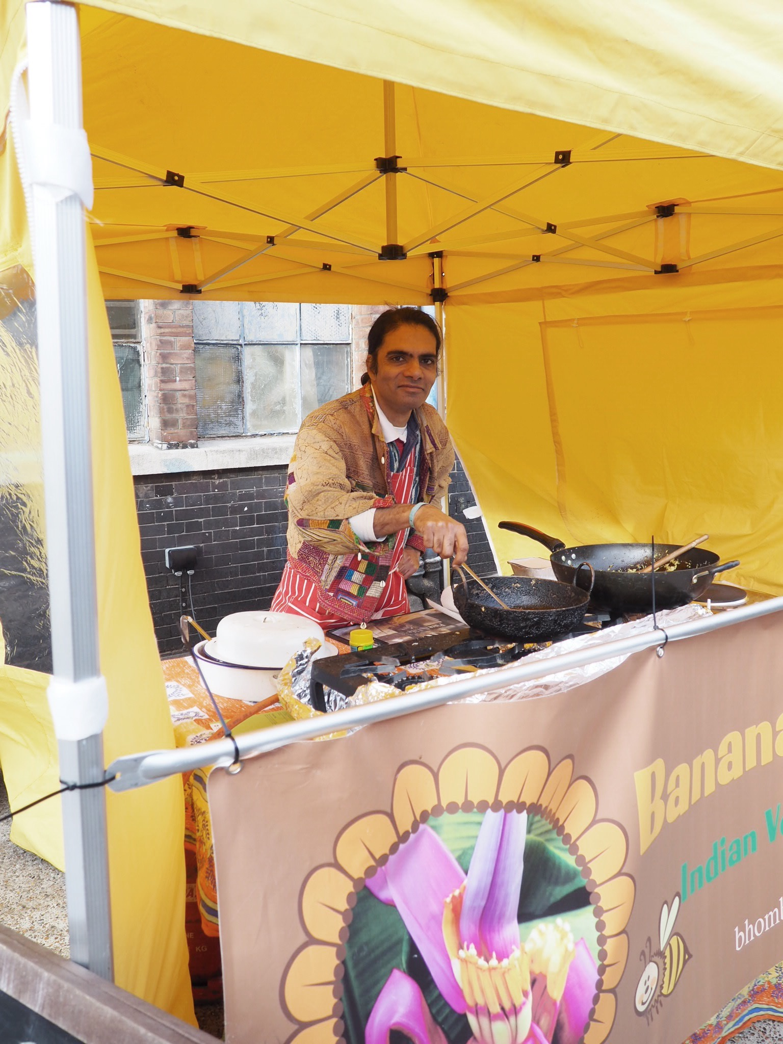 Banana Blossom vegan Indian curry