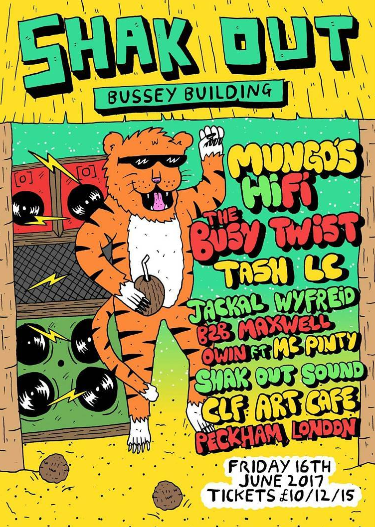 Event at the Bussey Building