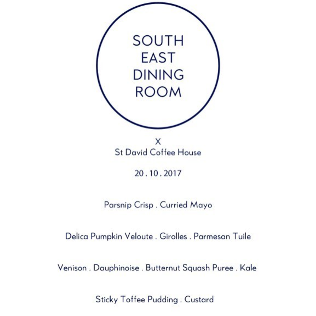 South east dining club Supper club