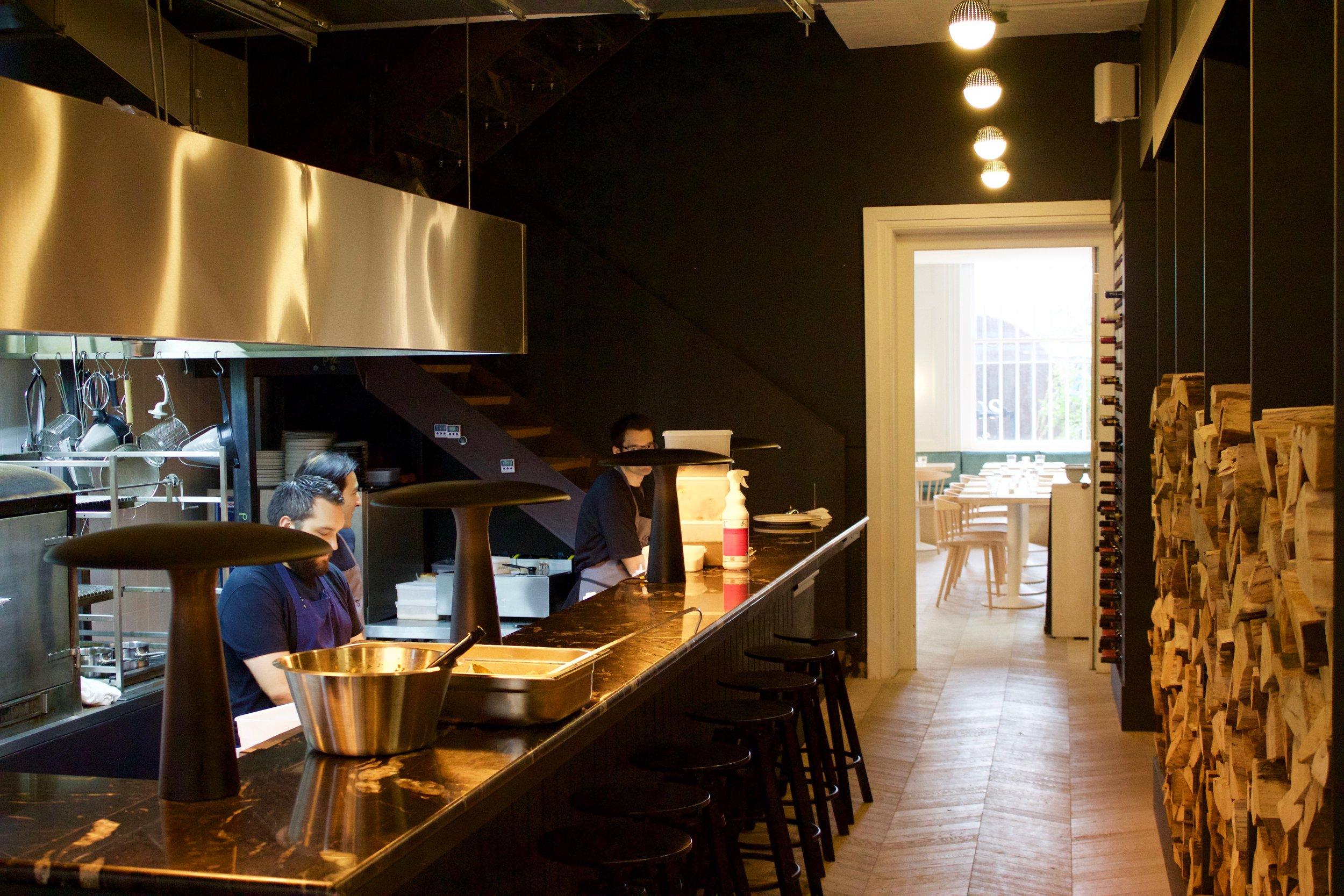 Coal Room restaurant
