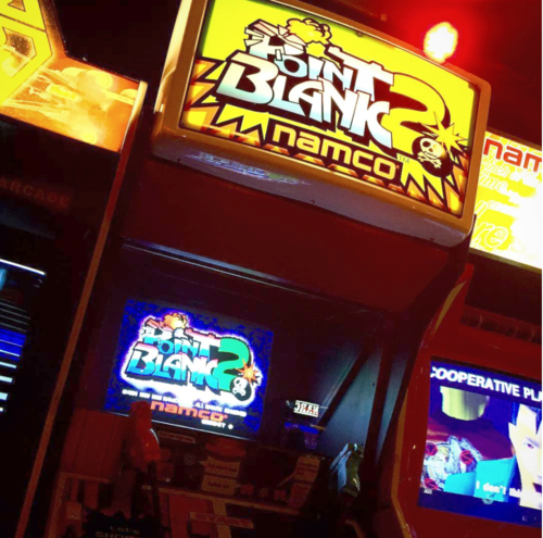 Retro arcade bar - The Four Quarters Peckham Image; @fourquartersbar