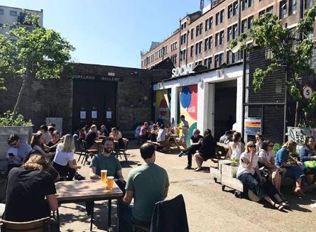 The new Peckham bar - Copeland and Social (Image; @copeandsocial)